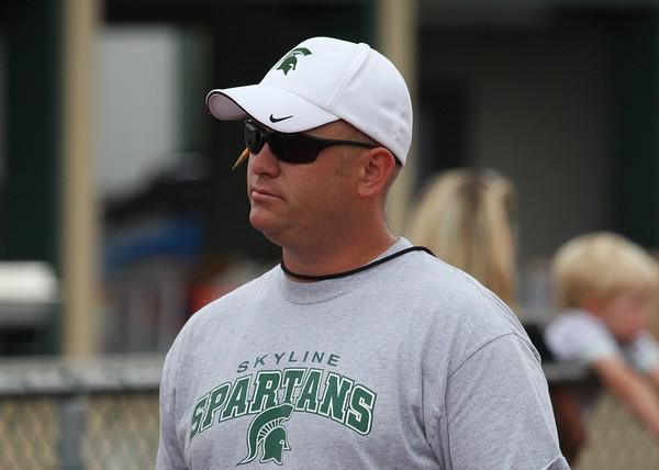 2012 Skyline Football Coach & Family Photos